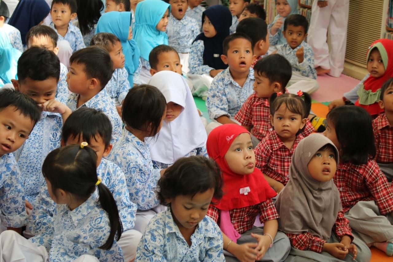 Kunjungan Siswa/i TK YPK Bontang