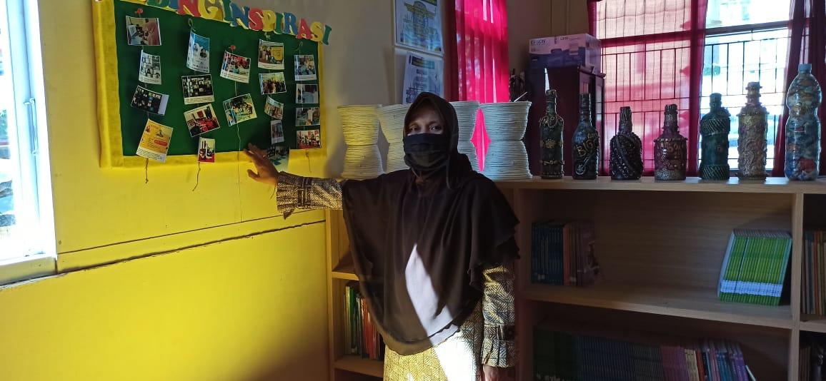 Pantang Surut Melawan Corona, Kelurahan Berbas Pantai Runner Up Perpustakaan Kelurahan Se Kalimantan Timur